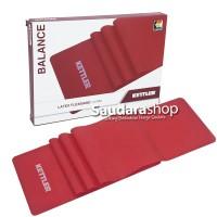 Kettler Latex Flexiband 0.5MM Red / Latex Aerobic Merah / Latex Senam