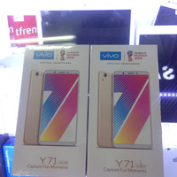 HP Vivo Y71 lte 4g Ram 3gb Internal 32gb New Y 71 GRS Resmi Black Gold
