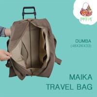 PROMO TRAVEL BAG! Tas Travelling Wanita Maika / Tas Trolley Dorong