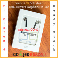 Jual Xiaomi Mi IV Hybrid Dual Drivers Earphones Headset In-Ear Mi