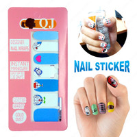 QJ1058 - NAIL STICKER / NAIL ART / STIKER KUKU