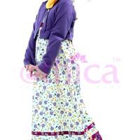 SALE!!! Gamis anak OSK 22 ungu by Ethica no. 6