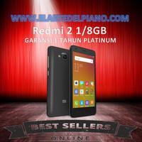 XIAOMI REDMI 2 4G LTE 1/8GB GARANSI DISTRIBUTOR PLATINUM hp handphone