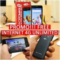 ANDROMAX B SE RAM 2GB BARU SEGEL DUS - Kuning hp handphone