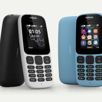 Nokia 105 New 2017 Garansi Resmi 1 tahun, ORIGINAL 100% P hp handphone
