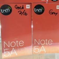 HP XIAOMI REDMI NOTE 5A RAM 2 ROM 16 Garansi TAM -Gold & Grey-
