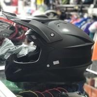 Helm Full Face GIX Cross Black Doff