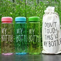 MY BOTTLE BENING WARNA / Botol Minum MY BOTTLE + Pouch B-03 new