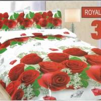 Sprei Bonita Disperse 3D King No.1 180 x 200 Seprai Royal Rose