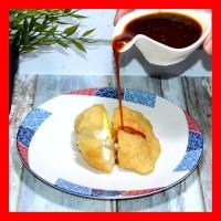 Pempek 89 KAPAL SELAM | Telur Besar + Cuko &Ebi | Frozzen | Ikan GABUS