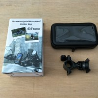 Holder HP FDT GPS Stang Sepeda / Motor Waterproof (Anti Air) 5.5