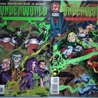 Komik Import Vintage / jadul Underworld Unleashed 1995 series # 1&2