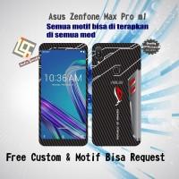 Garskin HP Asus Zenfone MAX PRO M1 Motif ROG Phone - Free Custom