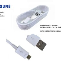 Kabel Data Original 100% Samsung Note 4 / Note 5 Suppot Fast Charging