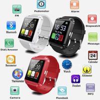 Smart Watch U8 / Smartwatch Jam Tangan Canggih Pintar Digital Murah