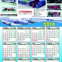 Kalender Foto Tahun 2018 Custom Foto 1 Lembar
