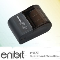 Printer Kasir Bluetooth Android Enibit P58M Thermal Mobile MOKA PAWOON