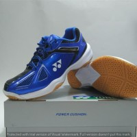 Sepatu Badminton Yonex Power Cushion Royal Blue (original)