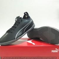Sepatu Futsal Puma Evoknit Black it (original)