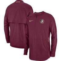 Florida State Seminoles Nike 2018 Sideline Lockdown Half-Zip Jacket