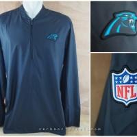 Carolina Panthers Nike Sideline Lockdown Half-Zip Pullover Jacket