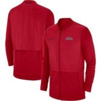 Ole Miss Rebels Nike 2018 Sideline Hybrid Jacket – Red