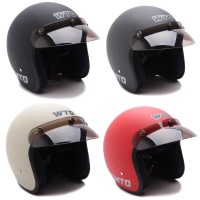 [Helm Dewasa] WTO Helmet Retro Bogo Pet - CLS1