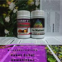Paket Sehat Kewanitaan Herbal Aman Dan Alami GURAH V Dan BIO AURA Dari