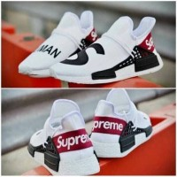 20af7f8ce Adidas NMD Human Race X Supreme   Sepatu White Putih Pria Gym Olahraga