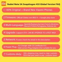 HP.1554-Global Version Xiaomi Redmi Note 5A Prime 5 A Termurahjamin!!