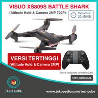 Drone VISUO XS809S Battle SHARK WIFI 2MP Camera Versi Diatas XS809HW