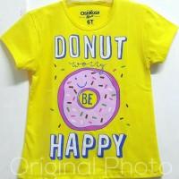Baju kaos karakter anak perempuan donut kuning 1-6