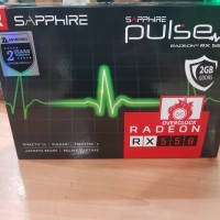 Sapphire Radeon RX 550 Pulse 2GB DDR5-Garansi Resmi Astrindo 2 Tahun