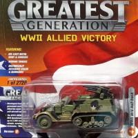 JOHNNY LIGHTNING the GREATEST GENERATION - WWII M16 HALF TRACK DIRTY