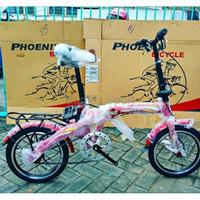 Spesial Sepeda Lipat Anak Phoenix 16 Inchi Bukan BMX United Polygon