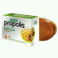 RNV010 sabun propolis herbal hni hpai sabun mandi herbal sabun muka