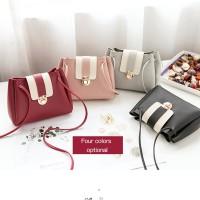 2018 new ladies handbags bag retro hijab lock drawstring