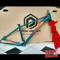 Frame Sepeda - Frame Polygon Xtrada 6 tahun 2018 include FD Deore