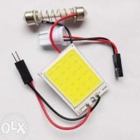 Murah! Lampu Led Plafon Motor Mobil Super White Cob Plasma Kabin