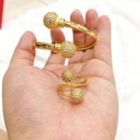 PROMO TERLARIS Gelang cincin xuping asli Monel Gold XP0211 Termurah