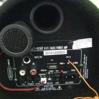 Dijamin Murmer Speaker Aktif Tabung Mobil/Rumah Advance T101 Kf