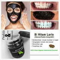 Harga charcoal powder masker charcoal pembersih muka pemutih | Pembandingharga.com