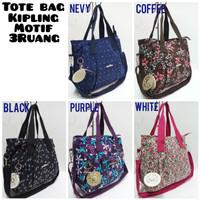 TOTE BAG KIPLING MOTIF 3Ruang Tali Panjang 6891477f88