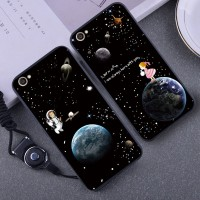 2in1 Soft Cute Star Case untuk Vivo X5 Pro Strap Premium hp Flower