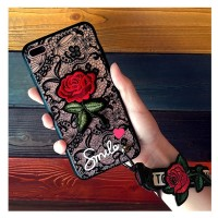For Samsung R9 C5 C7 C9 J5 J7 J2 Prime Pro imut hp Murah Rose Flower