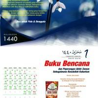 Kalender 1440 Hijriyyah 2019 Masehi Custom Disertai Puasa Sunnah