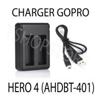 Dual Charger Desktop ( GoPro Hero 4 )