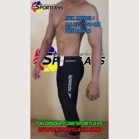 Celana Renang Speedo Endurance+ 7 PER 8 Hitam Putih