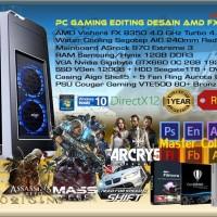 Komputer PC Rakitan Gaming Editing Desain AMD FX Vishera 8 Core