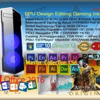 Komputer PC rakitan Intel Core i7 Bloomfield